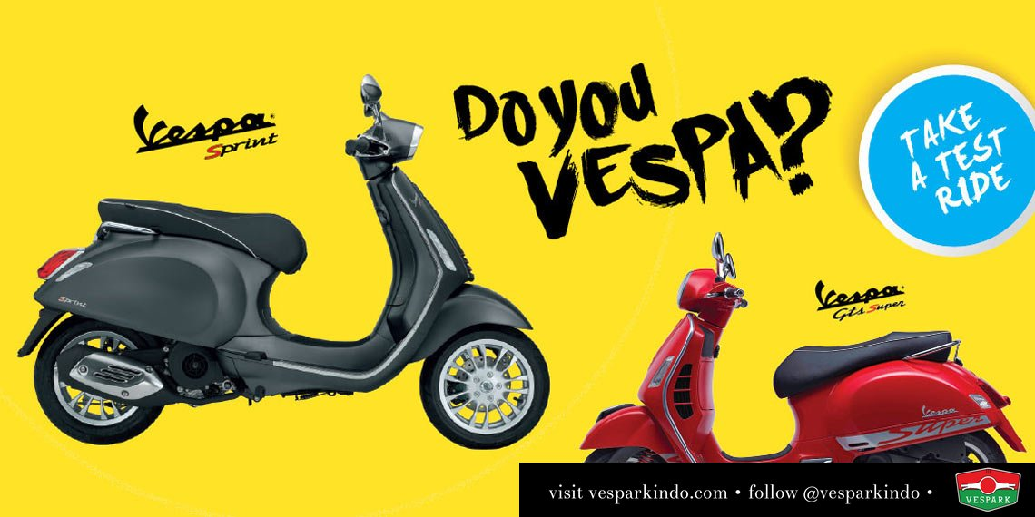 Test Ride Vespa